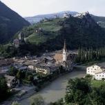 Klausen mit Kloster Säben in Südtirol (1988)