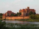 Marienburg [poln. Malbork] in Westpreußen, Hochmeistersitz des Deutschen Ordens (1309-1457)