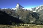 Matterhorn im Wallis, Schweiz (1990)