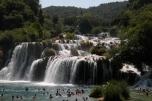Bild der Krka-Wasserfälle in Dalmatien (2015)
