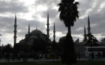 Blaue Moschee in Istanbul (2014)