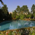 Schiras im südlichen Iran: Eram-Park (2007)