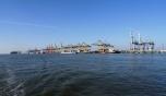 Bild des Containerhafens in Bremerhaven 2016