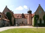 Bild der Burg Bederkesa im Elbe-Weser-Dreieck 2009