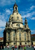 Bild der wieder aufgebauten Frauenkirche Dresden 2006