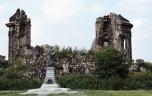 Bild der Ruine der Frauenkirche Dresden 1983 Kriegszerstörung 1945