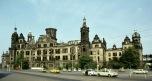 Bild der Schlossruine Dresden 1983