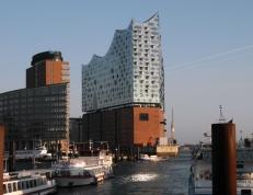 Bild der Elbphilharmonie in Hamburg 2016