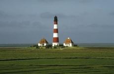 Bild des Leuchtturms von Westerhever (1996)