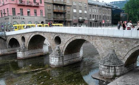 Sarajevo: Lateinerbrücke (2015)