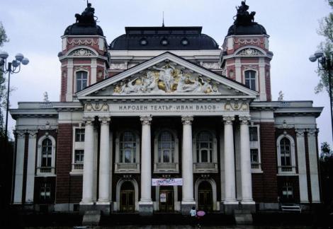 Sofia: Nationaltheater Ivan Vazow [von Helmer und Fellner] (1990)