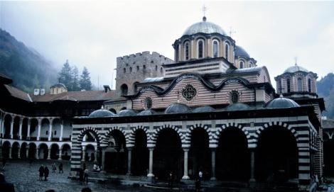 Kloster Rila: Kirche (1990)