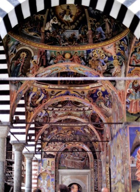 Kloster Rila: Laubengang (1990)