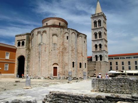 Zadar Donatuskirche und Domturm