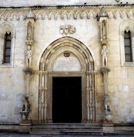 Sibenik Kathedrale Löwenportal
