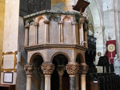 Trogir: Kathedrale - Kanzel (2016)