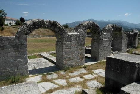 Bild von Salona Amphitheater