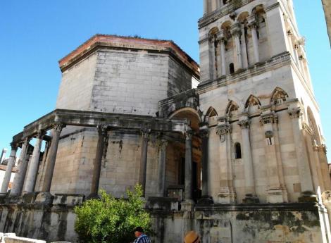 Split: Diokletianspalast - Kathedrale [Säulenumgang, Mausoleum, Glockenturm] (2016)