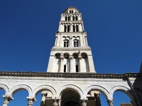 Split: Diokletianspalast - Glockenturm der Kathedrale (2016)