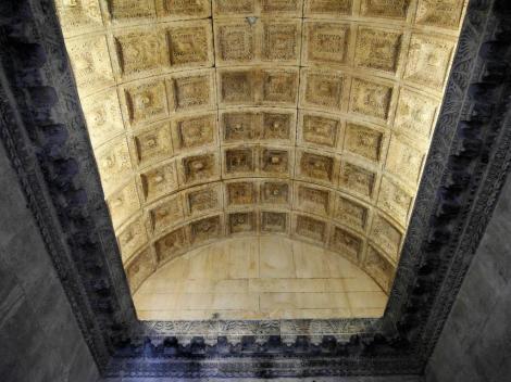 Split: Diokletianspalast - Jupitertempel [später Baptisterium] Gewölbe (2016)