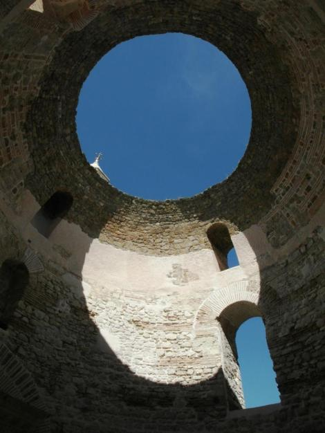 Split: Diokletianspalast - Vestibül (2016)
