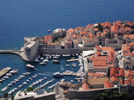 Dubrovnik: Blick vom Berg Srd (2015)