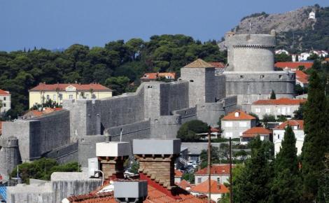 Dubrovnik: Stadtmauer (2015)