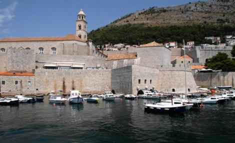 Dubrovnik: Blick zum Dominikanerkloster (2015)
