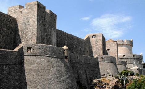 Dubrovnik: nördliche Stadtmauer (2015)