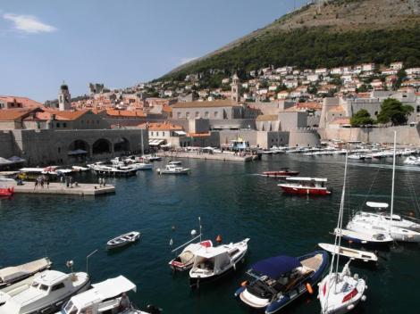 Dubrovnik: Blick von der Stadtmauer (2015)