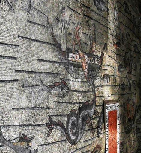 Aquileia: Dom - Fußbodenmosaik [Südhalle] (2017)