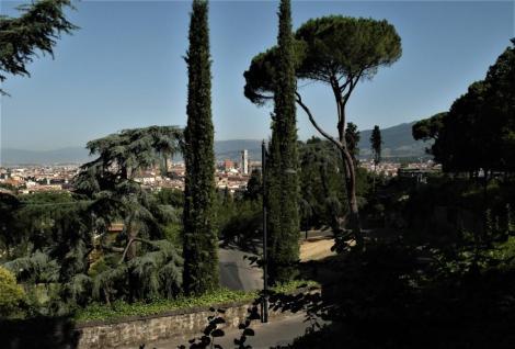 Blick von San Miniato al Monte auf Florenz (2017)