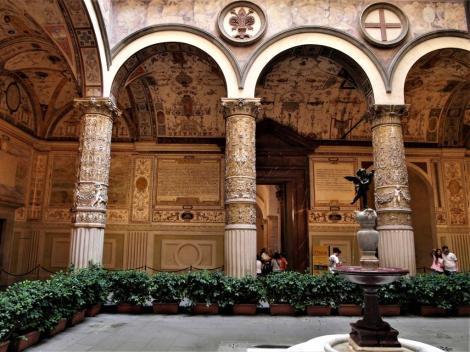 Palazzo Vecchio: Innenhof (2017)
