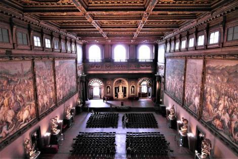 Palazzo Vecchio: Saal der Fünfhundert (2017)