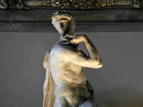"""Palazzo Vecchio: Michelangelos """"Genius des Sieges"""" im Saal der Fünfhundert (2017)"""