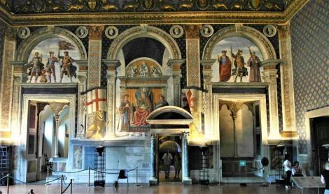 Palazzo Vecchio: Saal der Lilien (2017)