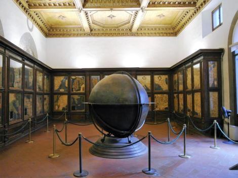 Palazzo Vecchio: Saal der Landkarten (2017)