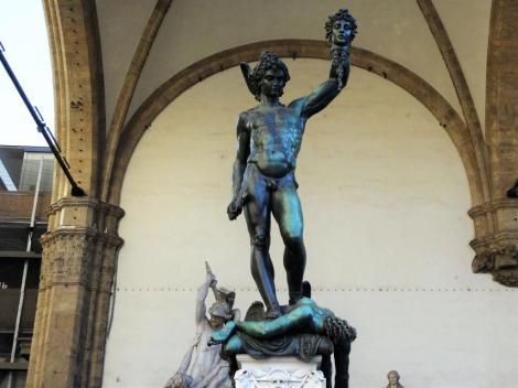 """Loggia dei Lanzi: """"Perseus"""" von Cellini (2017)"""