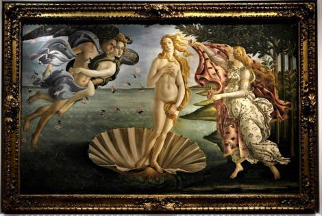 """Uffizien: """"Geburt der Venus"""" von Botticelli (2017)"""
