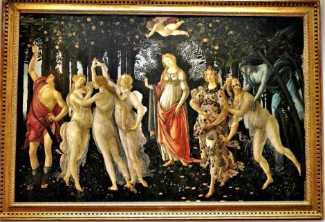 """Uffizien: """"Frühling"""" von Botticelli (2017)"""