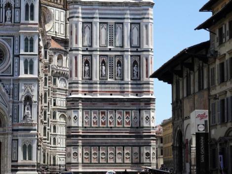 Campanile: unterer [von Giotto] und mittlerer Teil [von A. Pisano] (2017)
