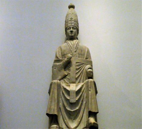 Dommuseum: Statue Papst Bonifaz VIII. von Arnolfo di Cambio (2017)