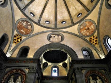 San Lorenzo: Alte Sakristei [von Brunelleschi] (2017)