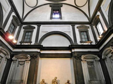 San Lorenzo: Neue Sakristei [von Michelangelo] (2017)