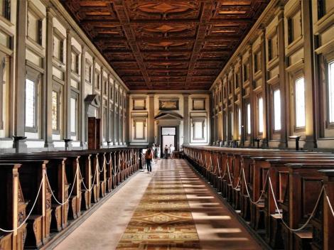 San Lorenzo: Biblioteca Laurenziana [von Michelangelo] (2017)
