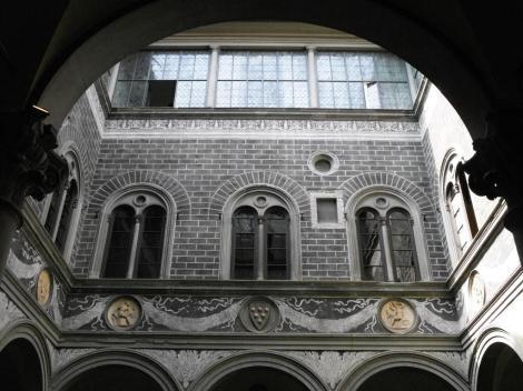 Palazzo Medici: Innenhof (2017)