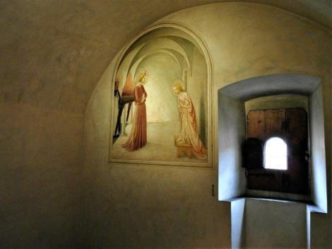 """San Marco: Zelle 3 mit """"Verkündigung"""" von Fra Angelico (2017)"""