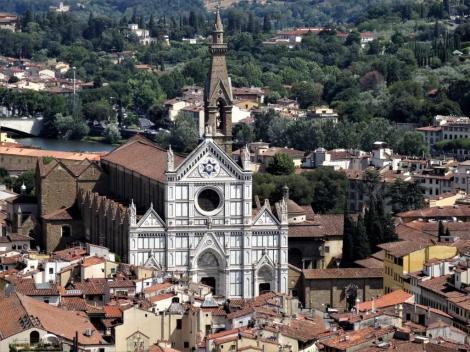 Santa Croce [Blick vom Campanile] (2017)