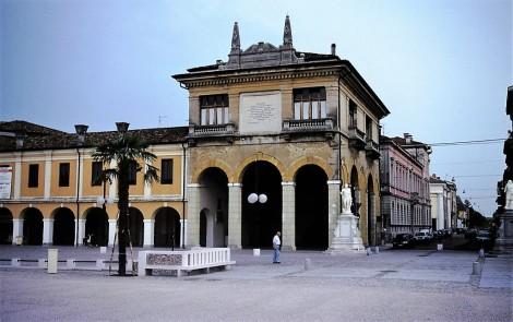 Palmanova: Rathaus auf der Piazza Grande (1999)
