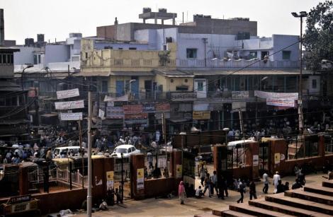 Delhi: Blick von der Freitagsmoschee (2000)